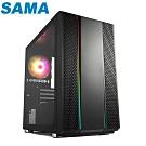 SAMA先馬 SAM1(B) 小璃光 Micro ATX 電腦機殼 電腦主機 主機殼
