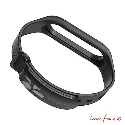 innfact 小米手環 3 悠遊卡支付錶帶(黑色)