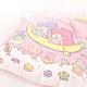 享夢城堡 單人薄被套4.5x6.5-雙星仙子Little Twin Stars 月光童話-粉 product thumbnail 1