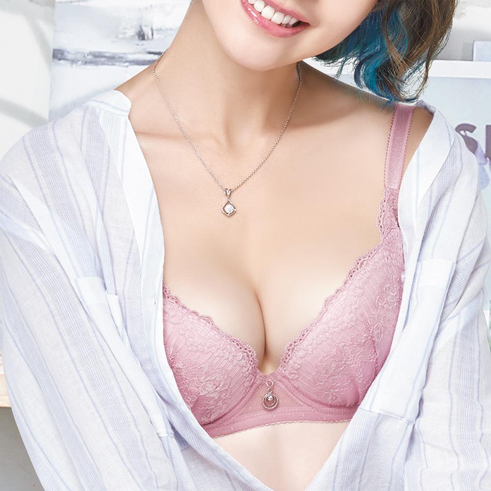 莎薇 O感覺好儷hide  D-F 罩杯內衣(舒壓粉)