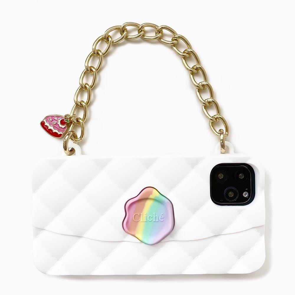 【Candies】獨角獸晚宴包(白) - iPhone 11 Pro Max