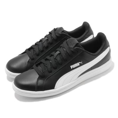 Puma 休閒鞋 Smash L 復古 女鞋 基本款 皮革鞋面 穿搭推薦 板鞋 黑 白 35672214