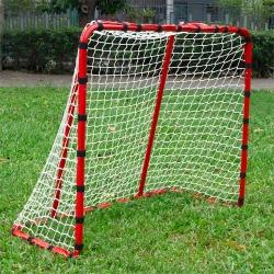DLD多輪多 專業兒童足球、曲棍球、直排輪曲棍球門 大球門 可快拆 紅