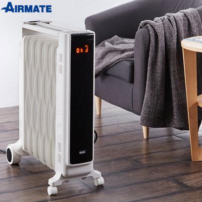 AIRMATE11片葉片式電暖器遙控式HU1157R