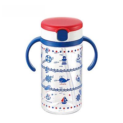 【麗嬰房】日本 Richell 第三代 藍海夢水杯320ML