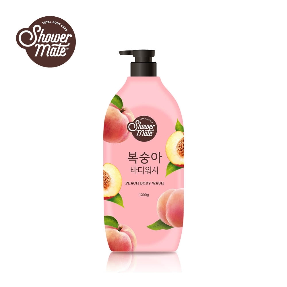 Shower Mate微風如沐 果香沐浴乳-甜蜜桃(1200g)