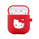 GARMMA Hello Kitty AirPods 藍芽耳機盒保護套 紅