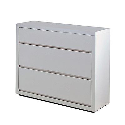 品家居 亞地2.7尺三斗櫃-80x40x75cm-免組