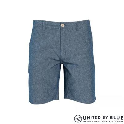United by Blue 男棉麻休閒短褲 SELBY SHORT