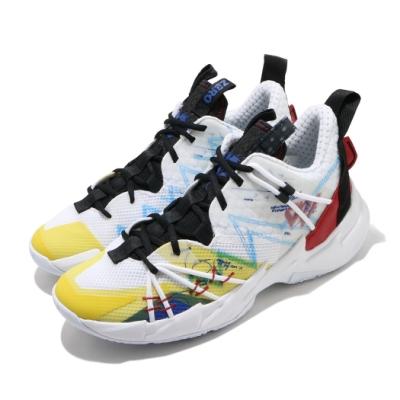 Nike 籃球鞋 Why Not Zer0 3 運動 男鞋 明星款 避震 包覆 球鞋 XDR外底 白 彩 CK6612100