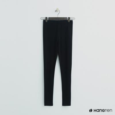 Hang Ten-童裝-彈性舒適運動長褲-黑