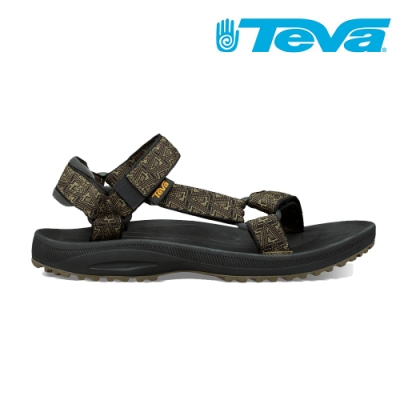TEVA Winsted 經典織帶涼鞋 男 竹深橄欖 TV1017419BDOLV