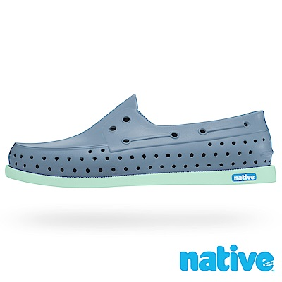 native HOWARD 男/女鞋-亞麻藍x湖水綠