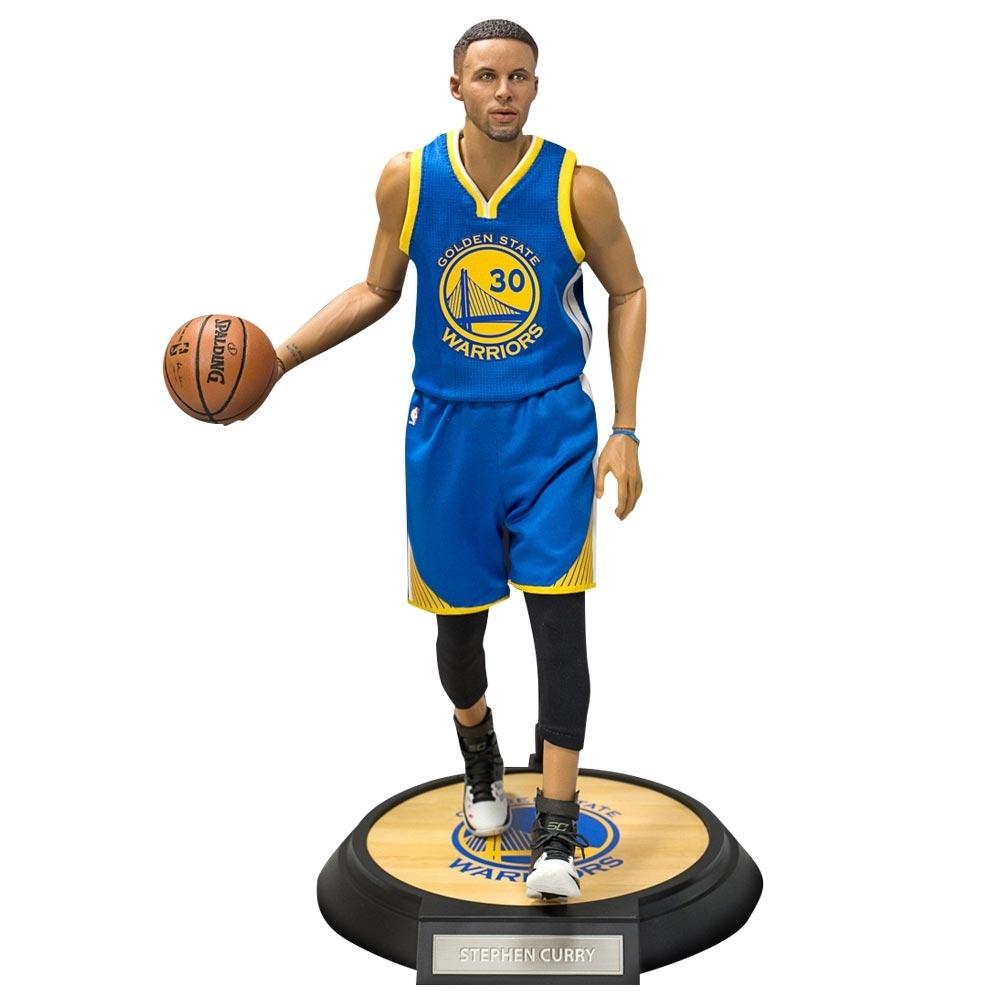 ENTERBAY 1/6 NBA公仔 勇士隊 Stephen Curry