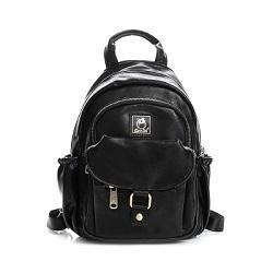 SharPei沙皮狗-城市漫遊x單肩兩用造型後背包-典藏黑