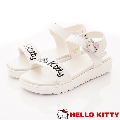 HelloKitty童鞋 輕量柔軟中底涼鞋款 EI19238白(中小童段)