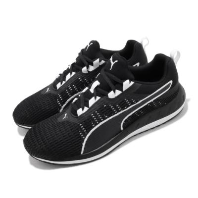 Puma 慢跑鞋 Flare 2 Dash Uni 男鞋 輕量 透氣 舒適 避震 運動 球鞋 黑 白 19359403