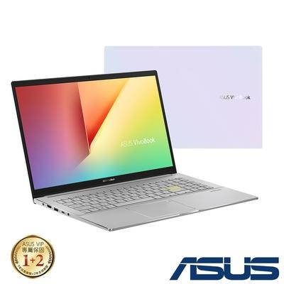 (附M365 15個月)ASUS S533EQ 15.6吋效能筆電(i5-1135G7/MX350 2G獨顯/16G/512G PCIe SSD/VivoBook S15/幻彩白)
