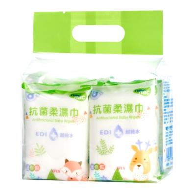 【箱購】nac nac 抗菌迷你包濕巾 (8抽8入x16袋)
