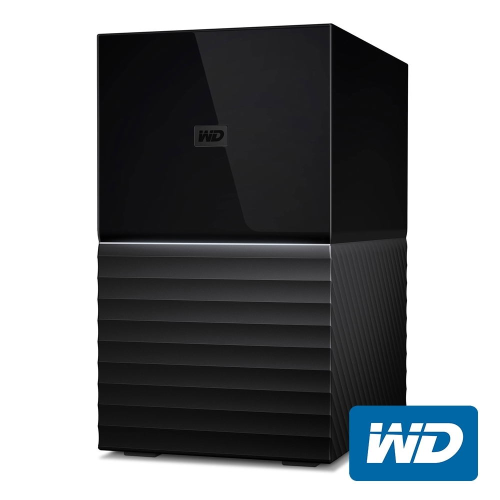 WD My Book Duo 28TB(14TBx2) 3.5吋雙硬碟儲存