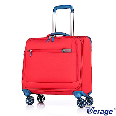 Verage 維麗杰 17吋輕量經典系列電腦拉桿箱 (紅)