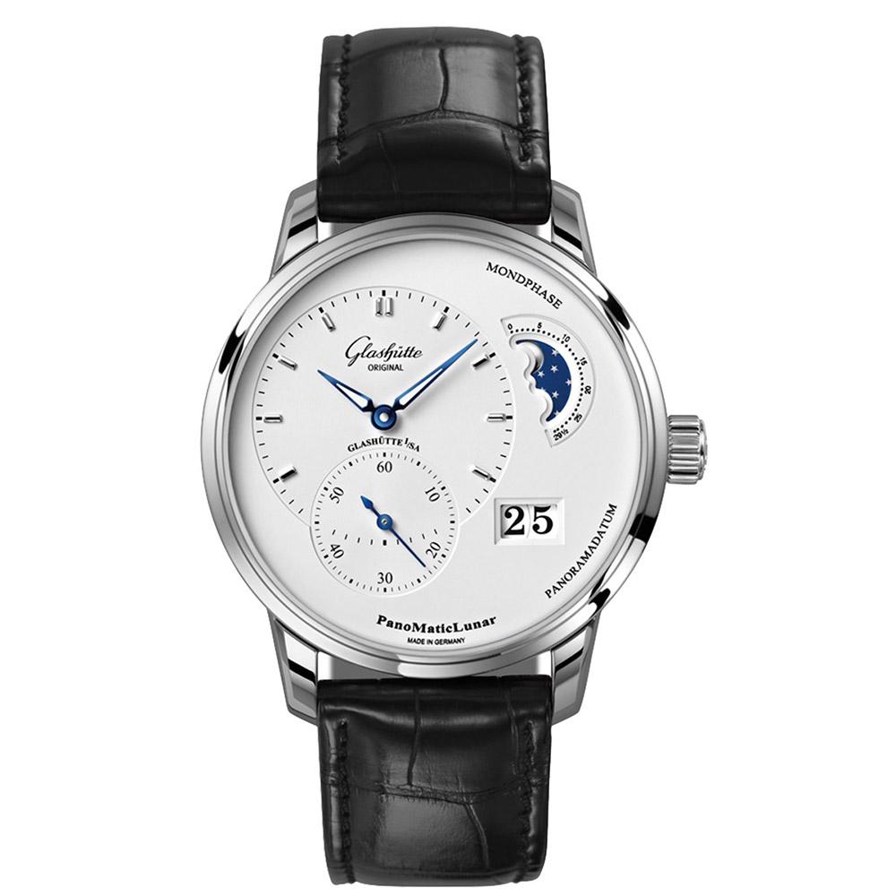 GLASHUTTE 格拉蘇蒂 偏心系列 偏心月相錶-40mm