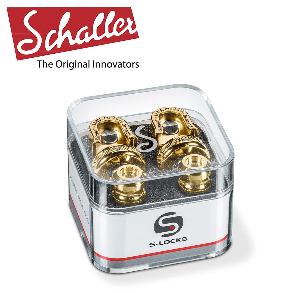 Schaller S-Locks 吉他安全背帶扣 香檳金色款 @ Y!購物
