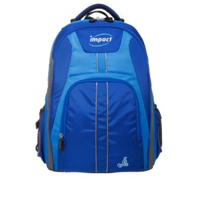 【IMPACT】怡寶調整型護脊書包-博學系列-藍 IM00221RB