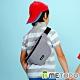 【METODO防盜包】Sling Bag S 不怕割斜背包/休閒腰包TSL-501灰 product thumbnail 2