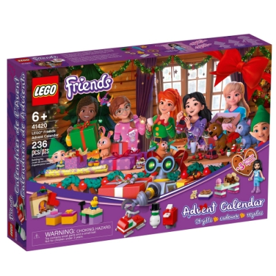 樂高LEGO Friends系列 - LT41420 Friends 驚喜月曆