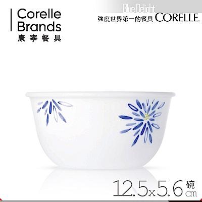 (送雙入筷)美國康寧 CORELLE 藍色喜悅450ml中式碗