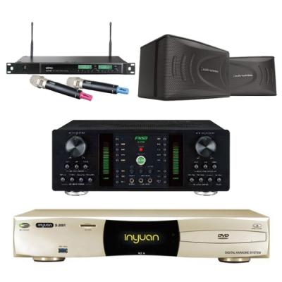 音圓N2A+FNSD A-250+AT-KSP90+ACT-589(伴唱機 4TB+卡拉OK套組)
