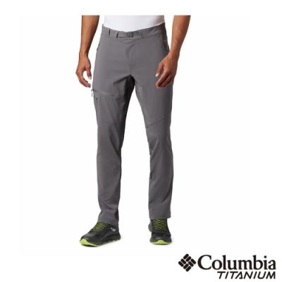 Columbia 哥倫比亞 男款-鈦 Omni-Shield 防潑防曬50長褲-灰色 UAE03170GY