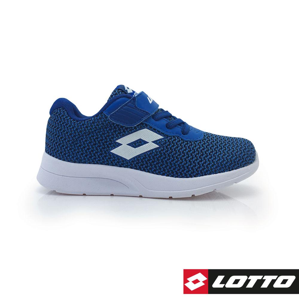 LOTTO 義大利 童 MEGALIGHT 輕量跑鞋 (丈青)