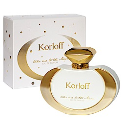 Korloff Take me to the Moon月亮漫舞女性淡香精100ml