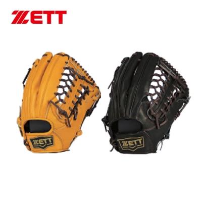 ZETT 36系列棒球全牛手套 12.5吋 外野手用