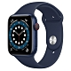 Apple Watch Series 6 (GPS+行動網路) 44mm 藍色鋁金屬錶殼+藍色錶帶(M09A3TA/A) product thumbnail 1