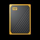 WD My Passport Go 2TB(黑/琥珀黃) 外接式固態硬碟