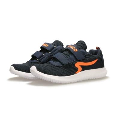 【ZEPRO】AIR飛織透氣輕量運動鞋(中童)-深藍