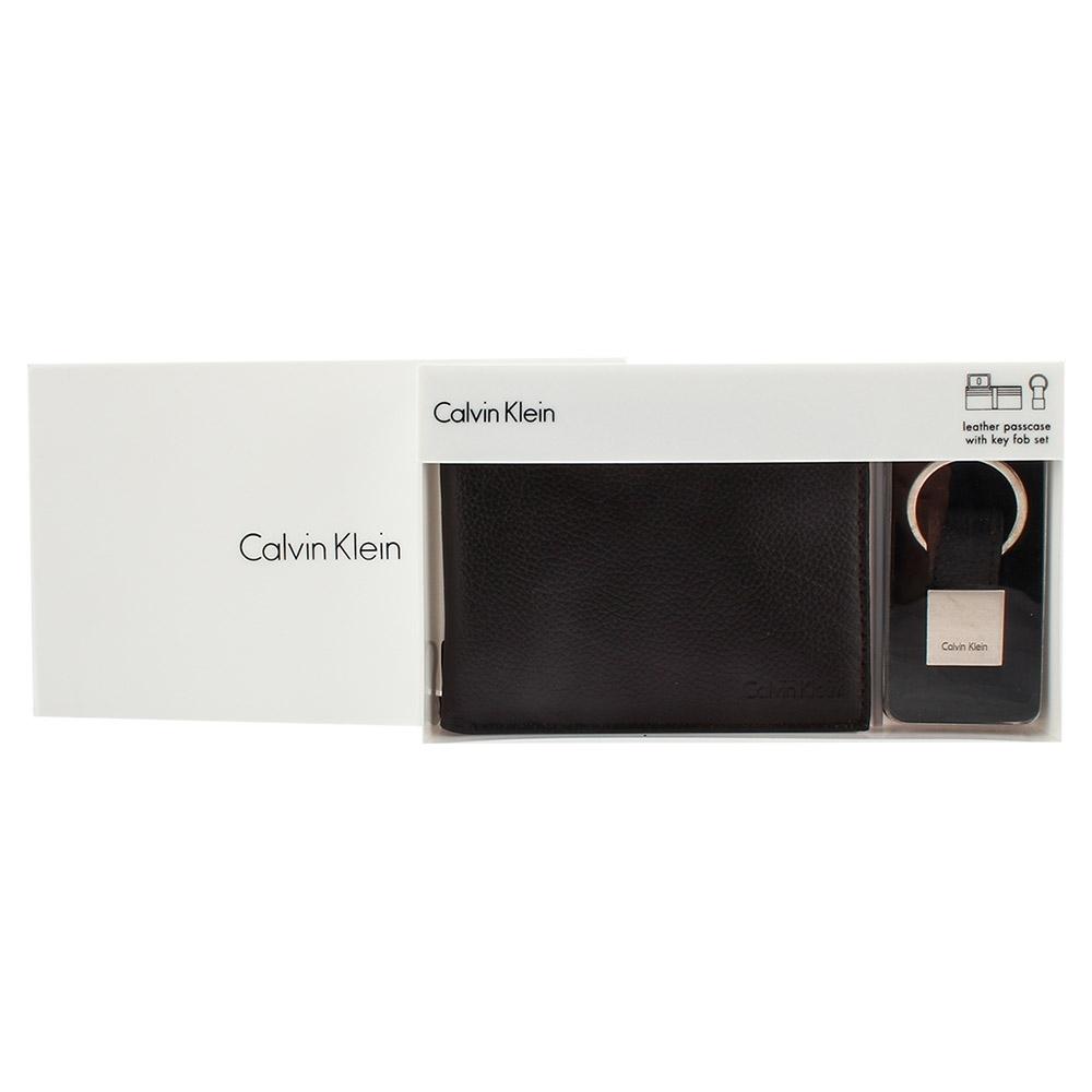 [時時樂限定] Calvin Klein 短夾鑰匙圈禮盒