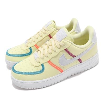 Nike 休閒鞋 Air Force 1 07 LX 女鞋 經典款 舒適 簡約 球鞋 穿搭 黃 灰 CK6572700