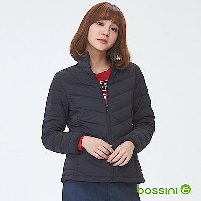 bossini女裝-彈性無縫羽絨外套黑