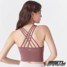 STL Crop Top 123 韓國專業運動內衣 編織乾燥玫瑰