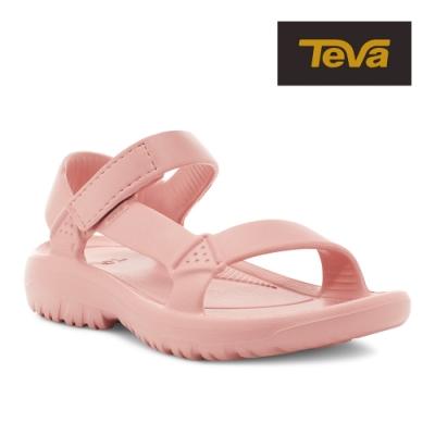 【TEVA】原廠貨 女 Hurricane Drift 水陸輕量涼鞋/雨鞋/水鞋(玫瑰粉-TV1102390RTN)