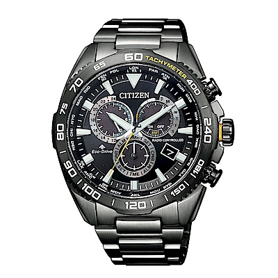 CITIZEN星辰PROMASTER準確時刻電波光動能腕錶CB5037-84E