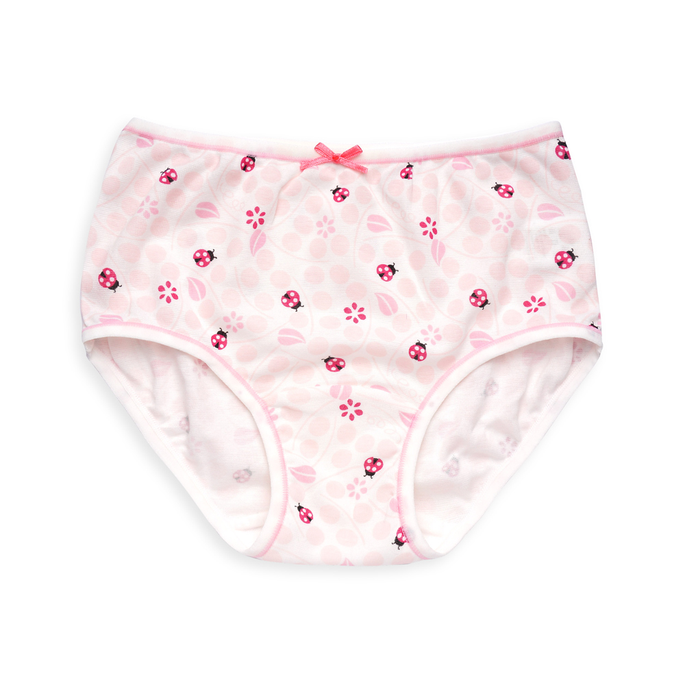anny pepe 兒童內褲 抗菌排汗紗女童三角褲-瓢蟲