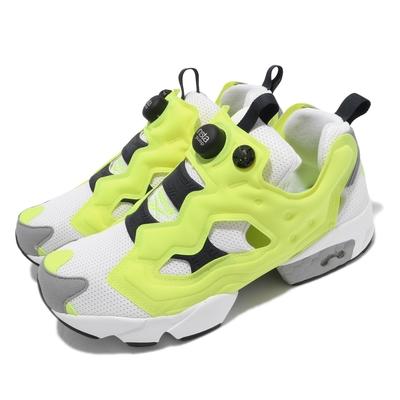 Reebok 休閒鞋 Instapump Fury OG 男女鞋 經典款 充氣科技 舒適 避震 情侶穿搭 黃 白 GZ3242
