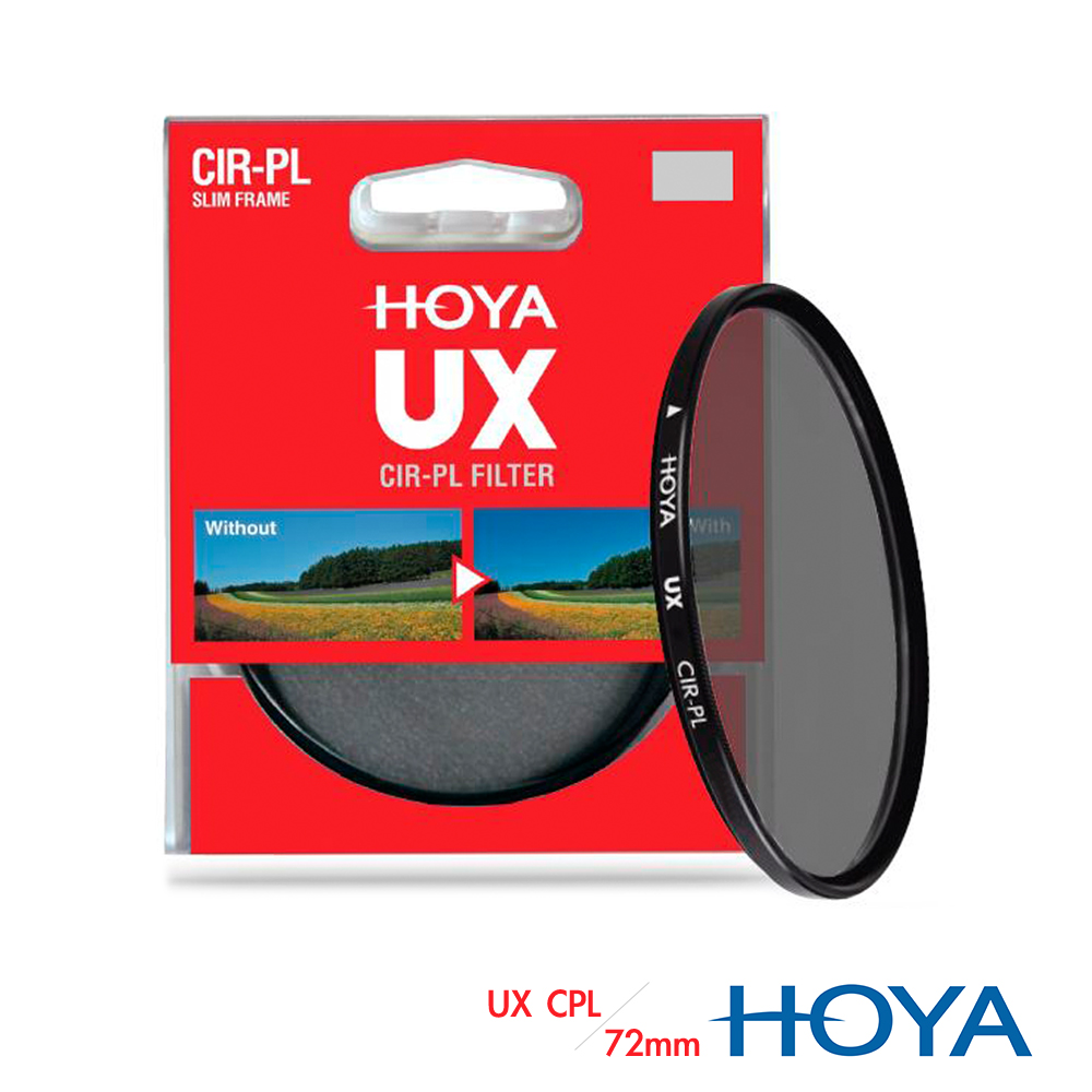 HOYA UX SLIM 72mm 超薄框CPL偏光鏡
