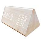 COMET 多功能LED聲控溫溼度電子鐘(GT-CP15)-快