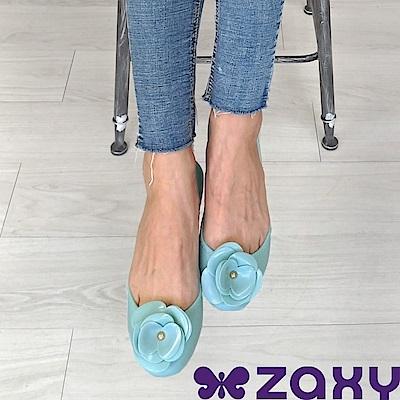 Zaxy 巴西 女 START IV 山茶花蕊娃娃鞋 (淺綠)